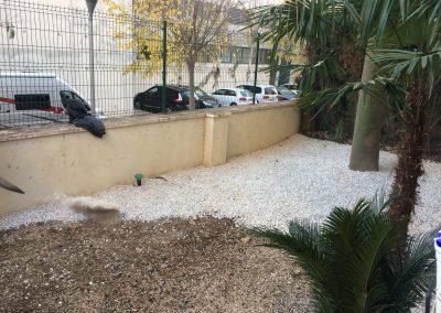 Adecuación de jardín piso Albir