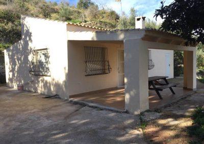 Ampliación casa de campo La Nucia