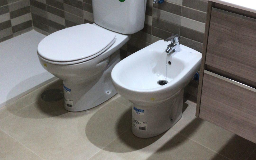 Reforma baño en piso zona Centro