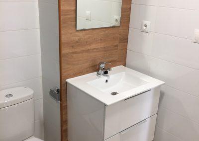 Reforma baño en piso La Cala