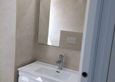 Reforma baño en piso Levante